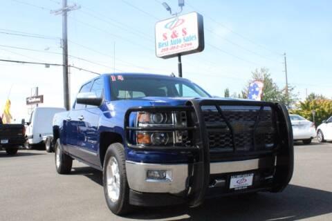 2014 Chevrolet Silverado 1500 for sale at S&S Best Auto Sales LLC in Auburn WA