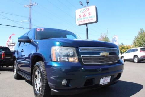 2007 Chevrolet Tahoe for sale at S&S Best Auto Sales LLC in Auburn WA