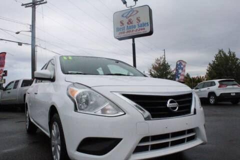 2017 Nissan Versa for sale at S&S Best Auto Sales LLC in Auburn WA