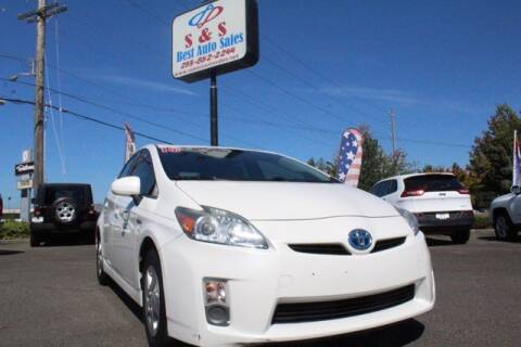 2010 Toyota Prius for sale at S&S Best Auto Sales LLC in Auburn WA