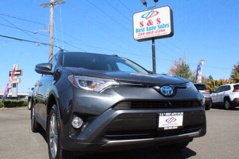 2018 Toyota RAV4 Hybrid for sale at S&S Best Auto Sales LLC in Auburn WA
