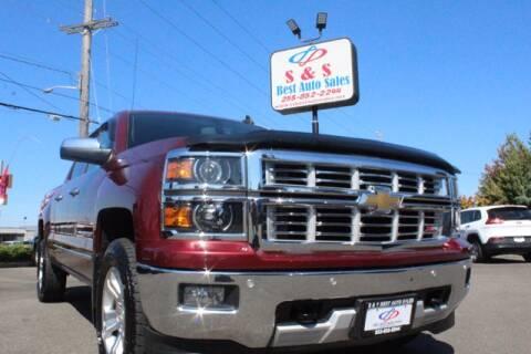 2015 Chevrolet Silverado 1500 for sale at S&S Best Auto Sales LLC in Auburn WA