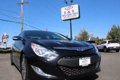 2013 Hyundai Sonata Hybrid for sale at S&S Best Auto Sales LLC in Auburn WA