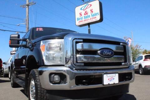 2012 Ford F-250 Super Duty for sale at S&S Best Auto Sales LLC in Auburn WA