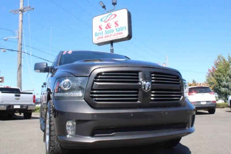 2014 RAM Ram Pickup 1500 for sale at S&S Best Auto Sales LLC in Auburn WA