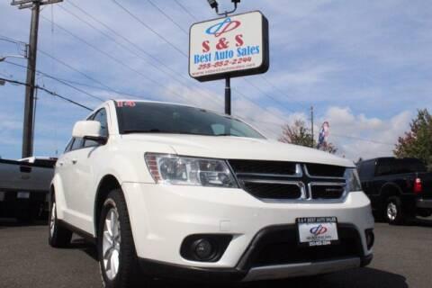 2014 Dodge Journey for sale at S&S Best Auto Sales LLC in Auburn WA