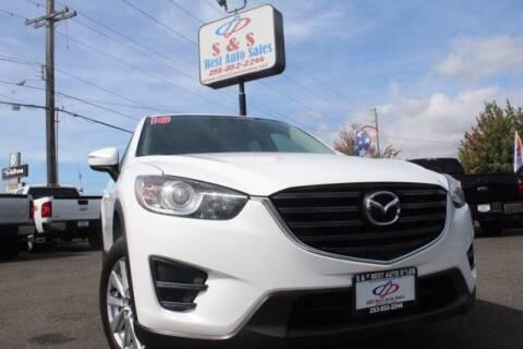 2016 Mazda CX-5 for sale at S&S Best Auto Sales LLC in Auburn WA