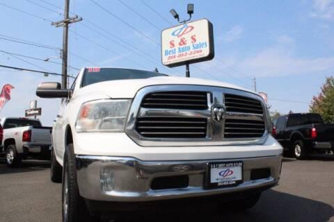 2015 RAM Ram Pickup 1500 for sale at S&S Best Auto Sales LLC in Auburn WA