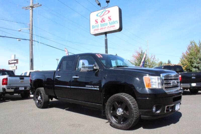 2011 GMC Sierra 2500HD for sale at S&S Best Auto Sales LLC in Auburn WA