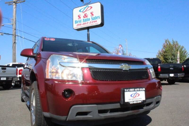 2009 Chevrolet Equinox for sale at S&S Best Auto Sales LLC in Auburn WA