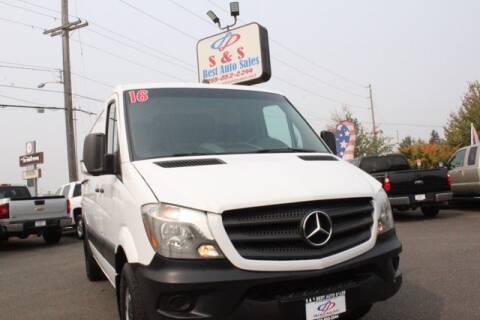 2016 Mercedes-Benz Sprinter Cargo Vans for sale at S&S Best Auto Sales LLC in Auburn WA