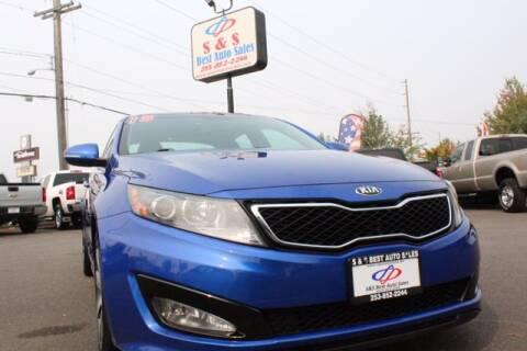 2013 Kia Optima for sale at S&S Best Auto Sales LLC in Auburn WA