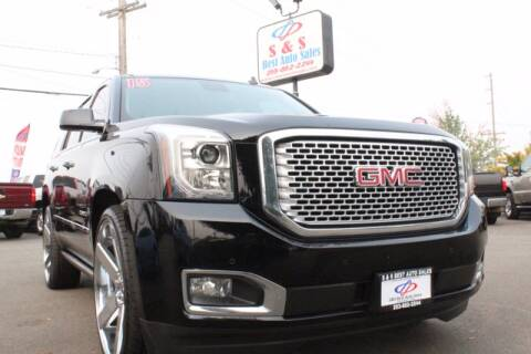 2015 GMC Yukon for sale at S&S Best Auto Sales LLC in Auburn WA