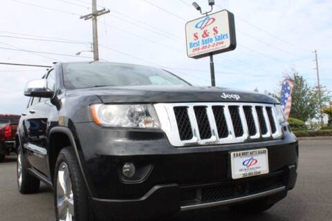 2012 Jeep Grand Cherokee for sale at S&S Best Auto Sales LLC in Auburn WA