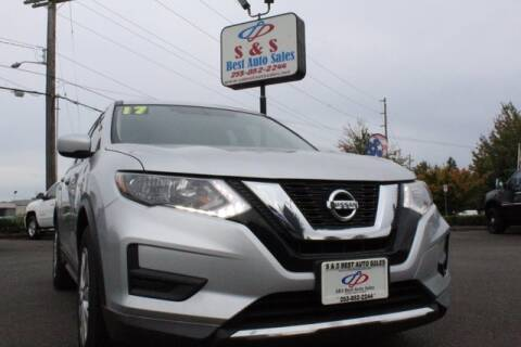 2017 Nissan Rogue for sale at S&S Best Auto Sales LLC in Auburn WA