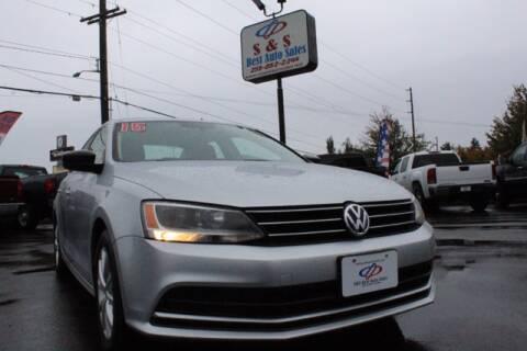 2015 Volkswagen Jetta for sale at S&S Best Auto Sales LLC in Auburn WA