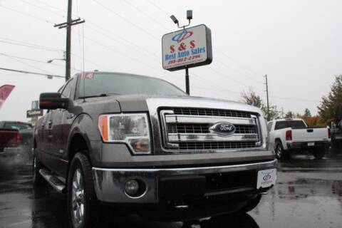 2014 Ford F-150 for sale at S&S Best Auto Sales LLC in Auburn WA