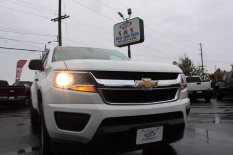 2016 Chevrolet Colorado for sale at S&S Best Auto Sales LLC in Auburn WA