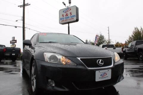 2008 Lexus IS 250 for sale at S&S Best Auto Sales LLC in Auburn WA
