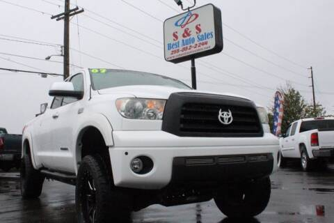 2007 Toyota Tundra for sale at S&S Best Auto Sales LLC in Auburn WA