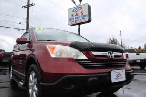 2007 Honda CR-V for sale at S&S Best Auto Sales LLC in Auburn WA