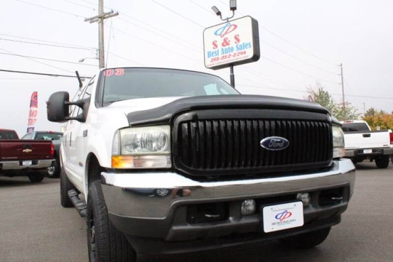 2003 Ford F-250 Super Duty for sale at S&S Best Auto Sales LLC in Auburn WA