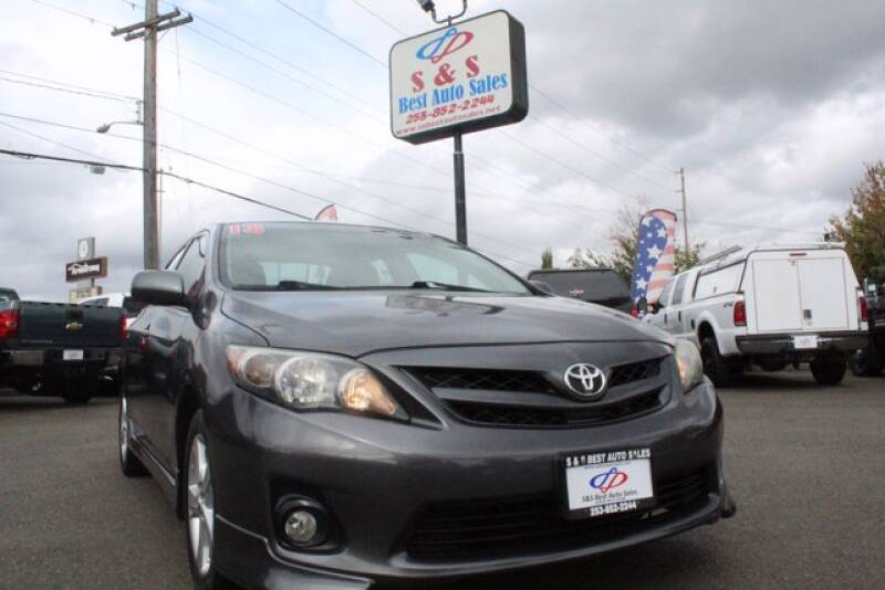 2013 Toyota Corolla for sale at S&S Best Auto Sales LLC in Auburn WA