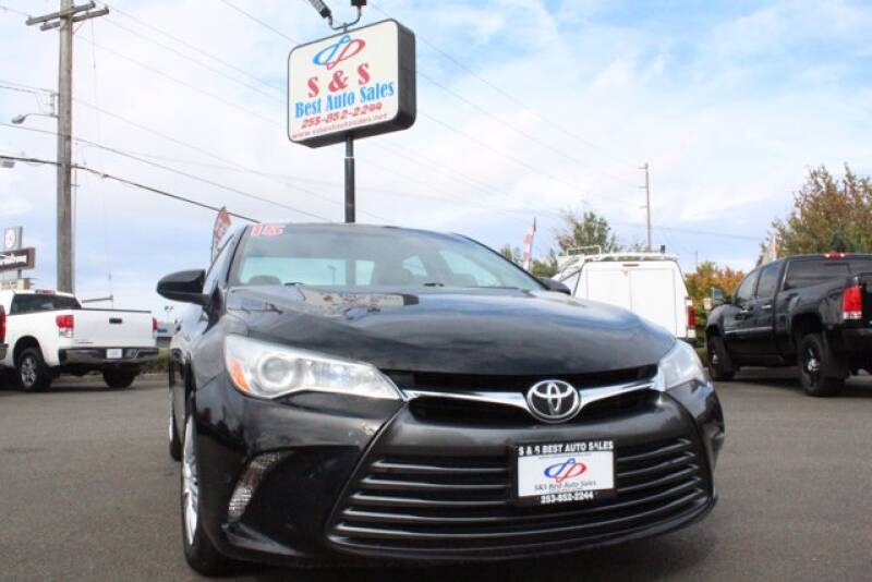 2015 Toyota Camry for sale at S&S Best Auto Sales LLC in Auburn WA