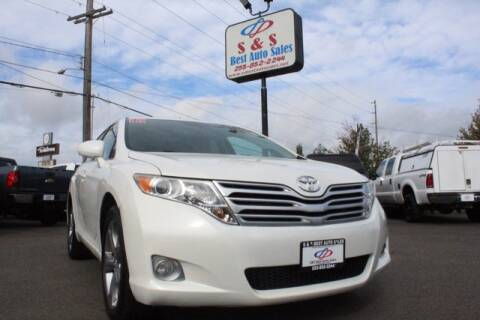 2012 Toyota Venza for sale at S&S Best Auto Sales LLC in Auburn WA