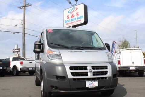 2016 RAM ProMaster Cargo for sale at S&S Best Auto Sales LLC in Auburn WA