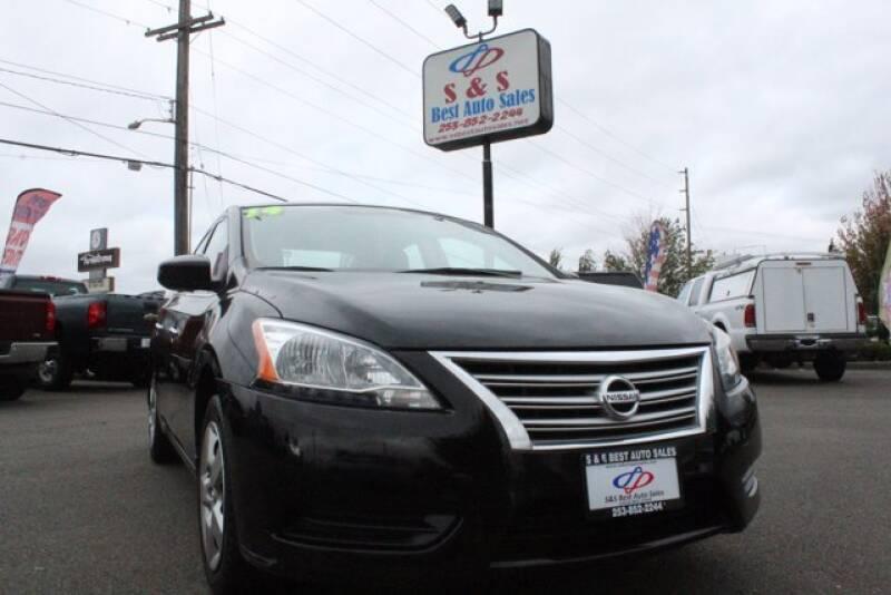 2014 Nissan Sentra for sale at S&S Best Auto Sales LLC in Auburn WA