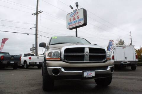 2006 Dodge Ram Pickup 1500 for sale at S&S Best Auto Sales LLC in Auburn WA