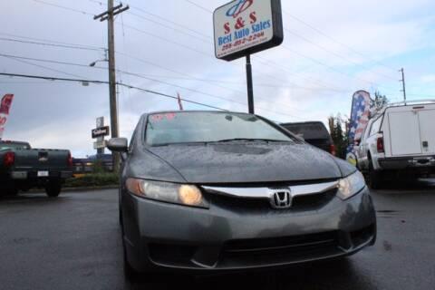 2009 Honda Civic for sale at S&S Best Auto Sales LLC in Auburn WA