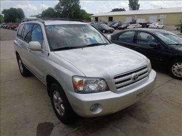 2005 Toyota Highlander for sale in Marion, IA