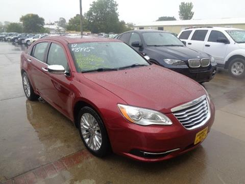 2012 Chrysler 200 for sale in Marion, IA