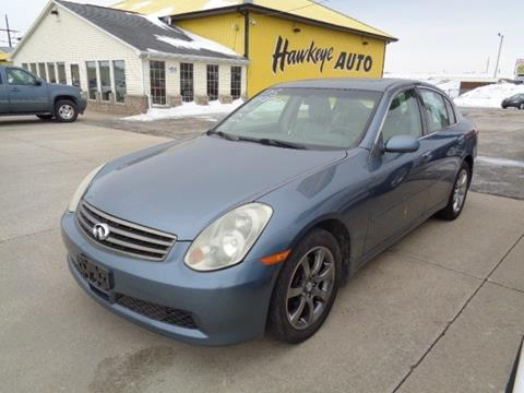 2006 Infiniti G35 for sale in Marion, IA