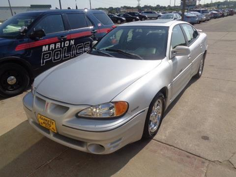 2002 Pontiac Grand Am for sale in Marion, IA