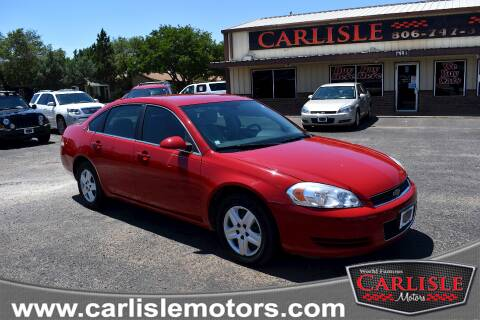 2008 Chevrolet Impala for sale at Carlisle Motors in Lubbock TX