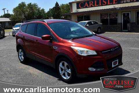 2015 Ford Escape for sale at Carlisle Motors in Lubbock TX