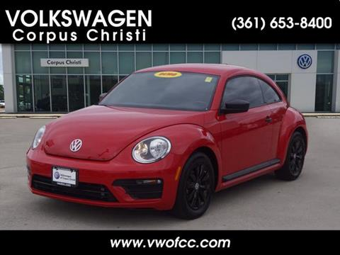 used 2018 volkswagen beetle for sale in corpus christi, tx