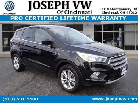 2017 Ford Escape for sale in Cincinnati, OH