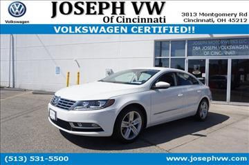 2013 Volkswagen CC for sale in Cincinnati, OH