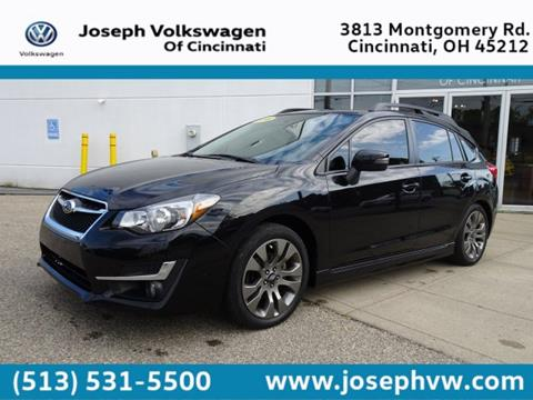 2016 Subaru Impreza for sale in Cincinnati, OH