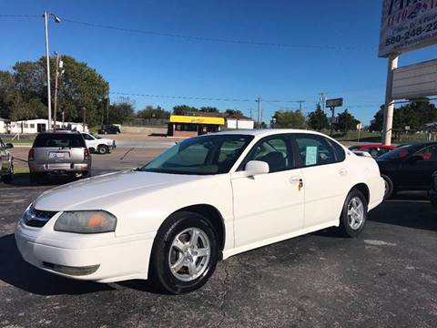 2005 Chevrolet Impala for sale in Lawton, OK
