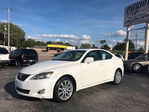 2006 Lexus IS 250 For Sale In Lawton, OK