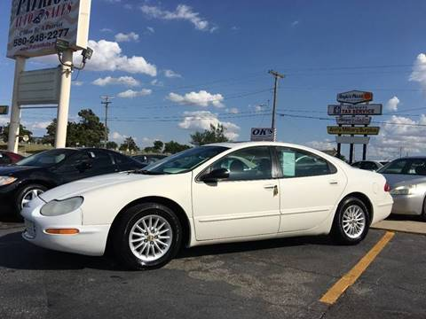 2001 Chrysler Concorde for sale at Patriot Auto Sales in Lawton OK