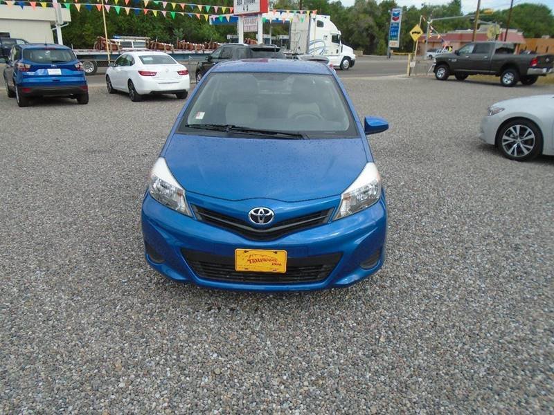 2012 Toyota Yaris L 2dr Hatchback 5M - Silver City NM
