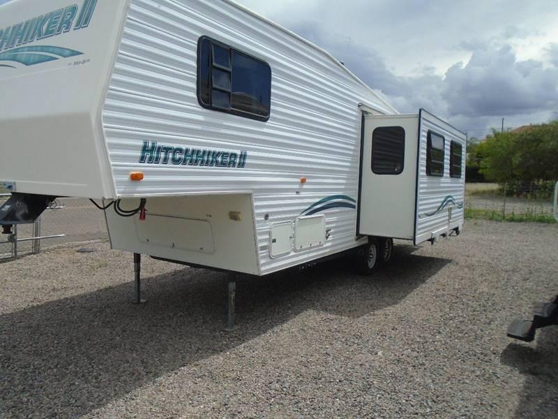 1997 NU WA HITCHHICKER II 30 FT 5TH WHEEL - Silver City NM
