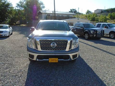 2017 Nissan Titan for sale in Silver City, NM