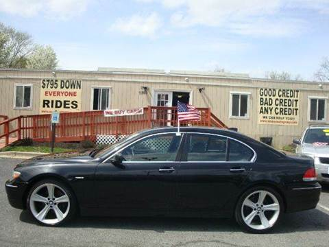 2007 BMW 7 Series for sale at Source Auto Group in Lanham MD